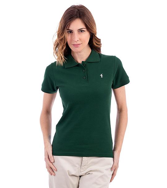 90ed4e16546 Тъмнозелена памучна дамска тениска Mona - 1908129 - Fashion Supreme ...