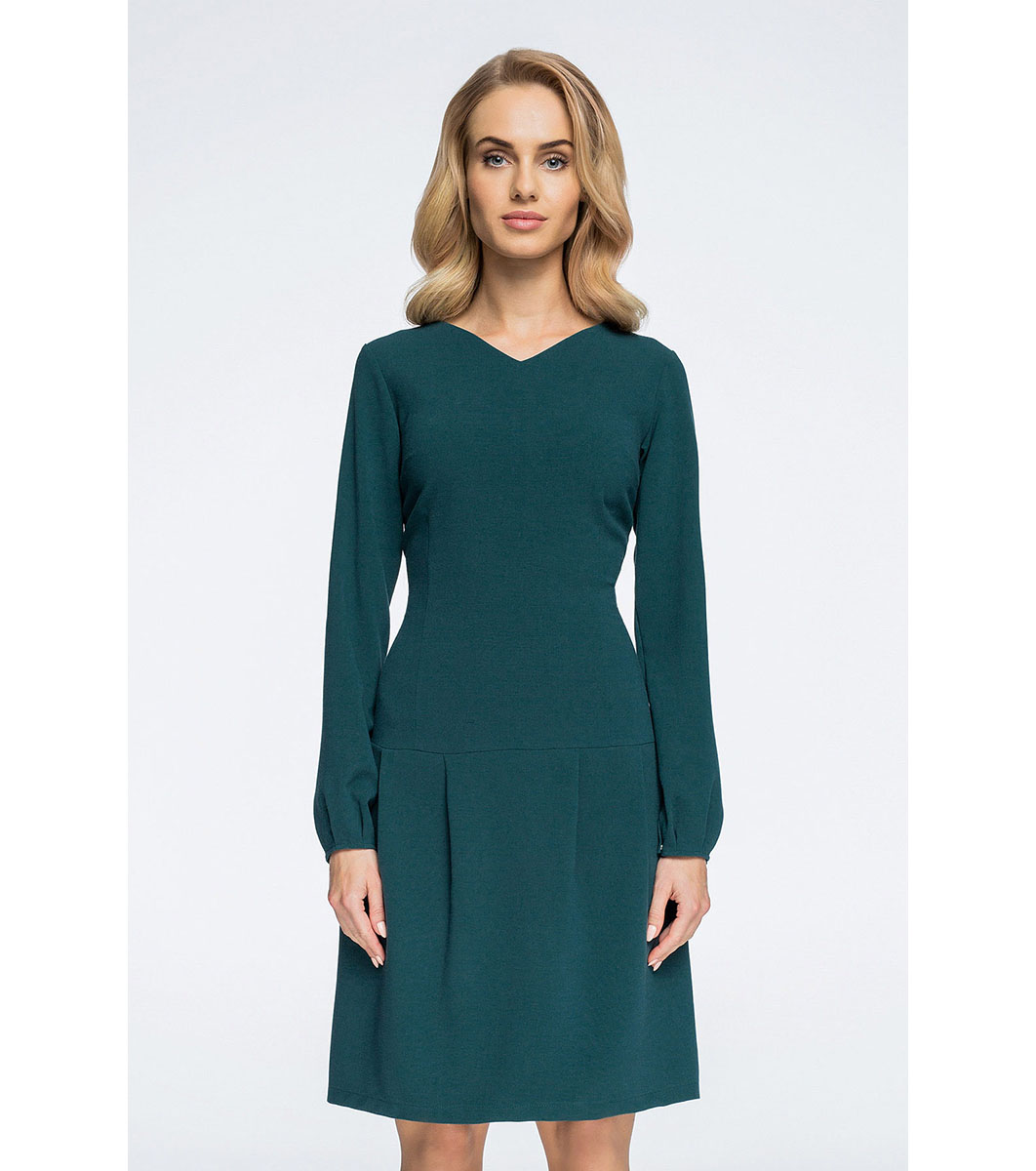 0cee8bca4e2 Зелена рокля с дълъг ръкав Roya - 2305097 - Fashion Supreme.co.uk
