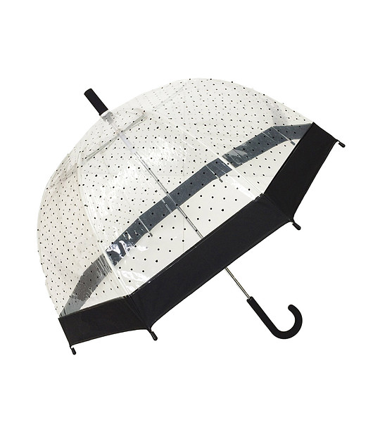 c804bbc68ab Прозрачен детски чадър с принт на точки - 1997423 - Fashion Supreme ...