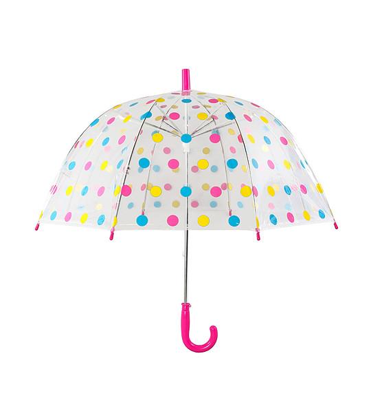 e2664d0e0a6 Прозрачен детски чадър с принт на многоцветни точки - 2141482 ...