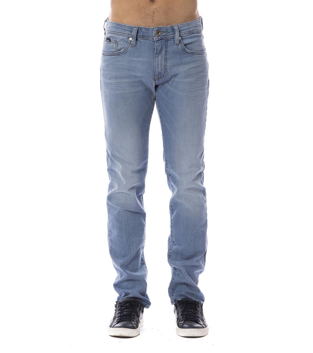 86e2223591d Светлосини памучни мъжки дънки Lenny - 2385396 - Fashion Supreme.co.uk