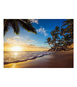 Фототапет Tropical Beach 300x210 см снимка